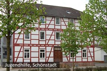 Fachwerkhaus der Jugendhilfe Schönstadt